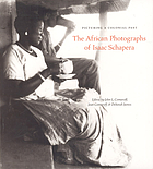 Picturing a colonial past : the African photographs of Isaac Schapera