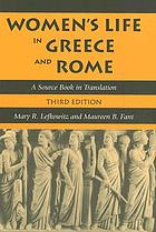 Women's life in Greece and Rome : a source book in translation