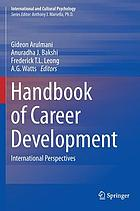 Handbook of career development : international perspectives