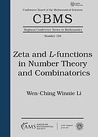 Zeta and L-functions in number theory and combinatorics