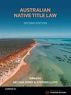 Australian native title law