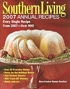 Southern living 2007 annual recipes.