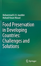 Food preservation in developing countries : challenges and solutions