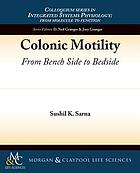 Colonic motility : from bench side to bedside