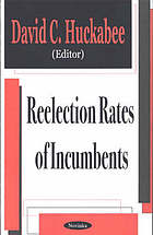 Reelection rates of incumbents