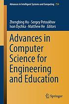 Advances in computer science for engineering and education