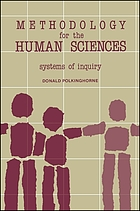 Methodologyfor the human sciences : systems of inquiry