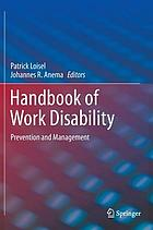 handbook of musculoskeletal pain and disability disorders in the workplace handbooks in health work and disability