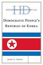 Historical dictionary of the Democratic People's Republic of Korea