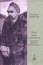 Thus spoke Zarathustra : a book for all and none