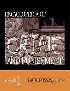 Encyclopedia of crime and punishment. Volume 1, A-C