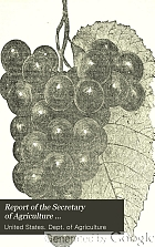 Report of the Secretary of Agriculture.