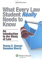 What every law student really needs to know : an introduction to the study of law