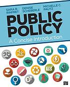 Public policy : a concise introduction