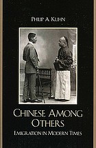 Chinese among others : emigration in modern times