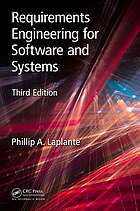 Requirements Engineering for Software and Systems, Third Edition.
