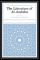 The Cambridge history of Arabic literature. [4] : the literature of Al-Andalus
