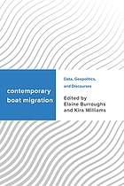 Contemporary boat migration : data, geopolitics, and discourses