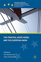The principal agent model and the European Union
