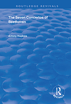 The seven concertos of Beethoven
