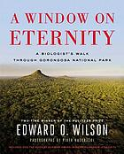 A window on eternity : Gorongosa and biodiversity