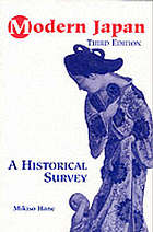Modern Japan : a historical survey