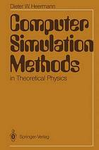 Computer simulation methods in theoretical physics