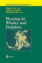 Hearing by Whales and Dolphins