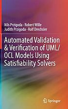 Automated validation & verification of UML/OCL models using satisfiability solvers