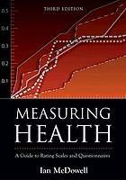 Measuring health : a guide to rating scales and questionnaires