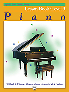 Alfred's basic piano library : [Alfred's basic for beginners] lesson book