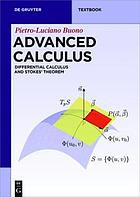 Advanced calculus : differential calculus and Stokes' theorem