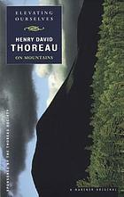 Elevating ourselves : Thoreau on mountains