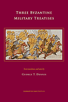 Three Byzantine military treatises