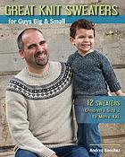 Great knit sweaters for guys big & small