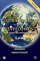 Globalization for development : trade, finance, aid, migration, and policy