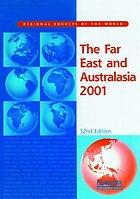 The Far East and Australasia 2001.