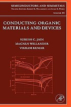 Semiconductors and semimetals. Vol. 81 : a treatise : Conducting organic materials and devices
