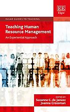 Teaching human resource management : an experiential approach
