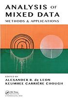 Analysis of mixed data : methods & applications
