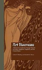 Art nouveau : a research guide for design reform in France, Belgium, England, and the United States