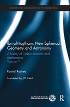A history of Arabic sciences and mathematics
