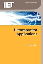 Ultracapacitor applications