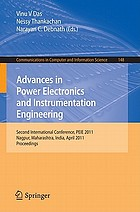 Advances in Power Electronics and Instrumentation Engineering : Second International Conference, PEIE 2011, Nagpur, Maharashtra, India, April 21-22, 2011. Proceedings