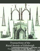 Transactions of the Royal Society of Edinburgh.