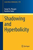 Shadowing and hyperbolicity