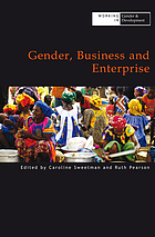 Gender, business and enterprise