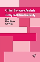 Critical Discourse Analysis: Theory and Interdisciplinarity.