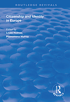 Citizenship and identity in Europe
