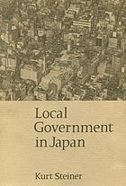 Local government in Japan